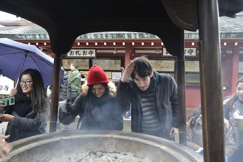 Incenso Templo- Ji - Asakusa Tóquio Japão