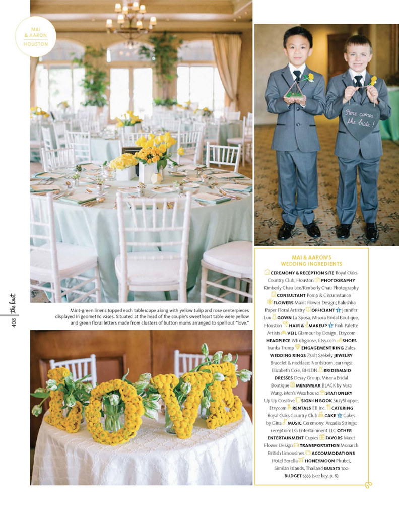 The Knot Texas Magazine - Mai + Aaron - Pg 3