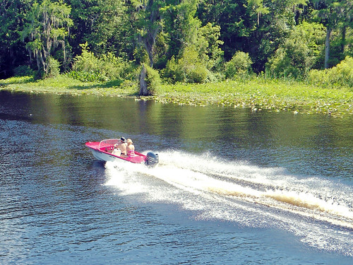 water river boat florida dunnellon