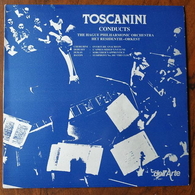 Cherubini, Debussy, Dukas, Haydn - Residency Orch., Arturo Toscanini, Dell'Arte DA 9007