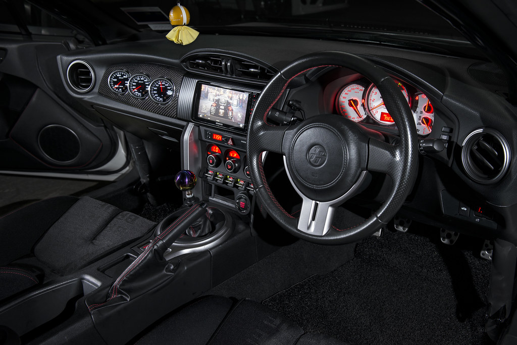 Toyota GT86 Interior.