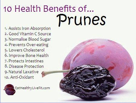 15. Prunes