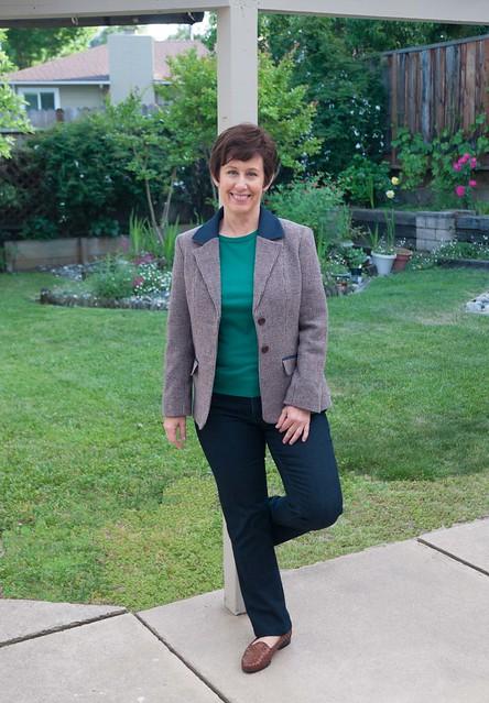 Saler tweed jacket