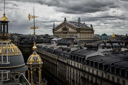 Palais Garnier from a Rooftop, Paris, 2016