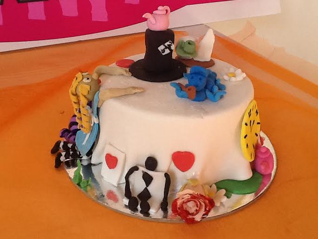 The Mad Hatters Tea Party Cake by Lindsay Wright of Moncrieffs Bakery and Coffee Shop