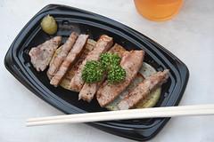 Kobe beef at Dotonbori street