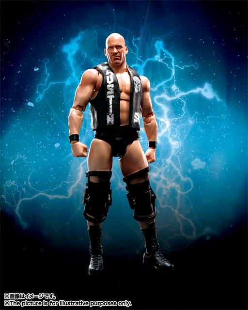 S.H.Figuarts – WWE 系列【冷石.史蒂夫.奧斯汀】Stone Cold Steve Austin 啤酒先來兩罐!!