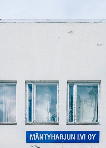 eteläsavo abstract architecture em5mkii europe exterior finland minimalism mäntyharju olympus olympus1240mmf28 omd reflections sign smalltown summer text typography wall windows
