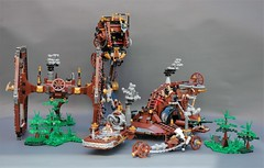 Steamwars - the MOC collection