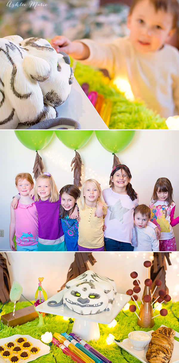 Good friends, food and easy decorations for a fun play date party