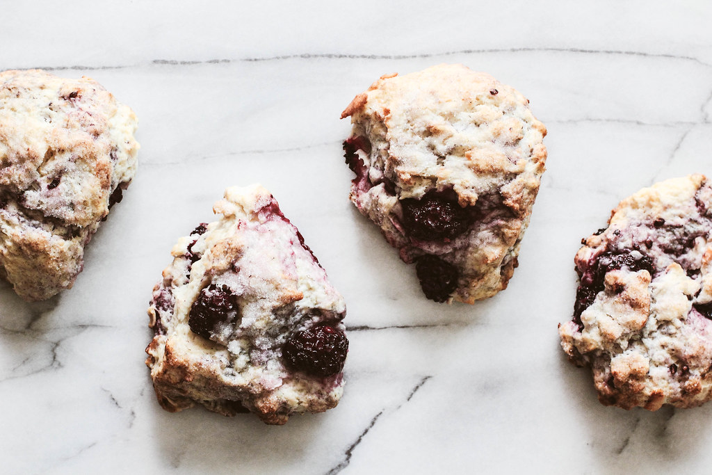 Pastry Affair | Blackberry Coconut Scones