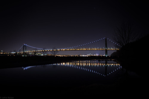 GWB at night