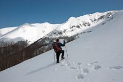 Scendendo dal Monte Viglio