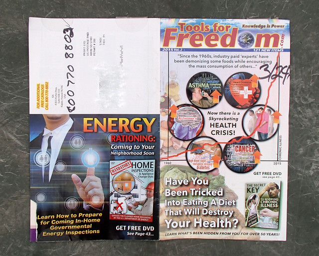 Tools for Freedom junk mail