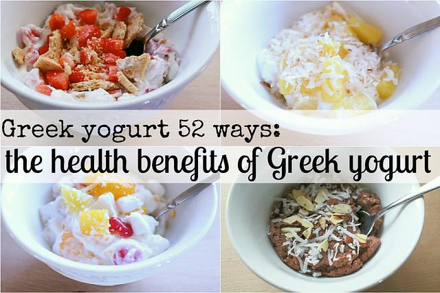 greek yogurt 52 ways: the health benefits of greek yogurt