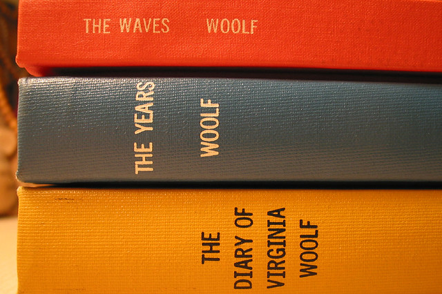 Books by Virginia Woolf. Courtesy Flickr (moxlux)/Creative Commons, 2008