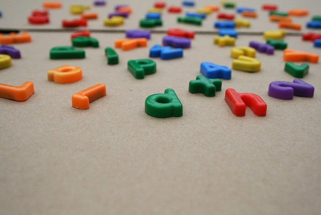 coloured-letters