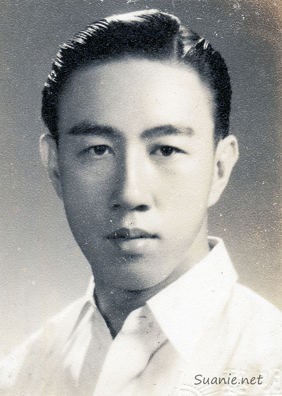 A young Lim Kheng Siang