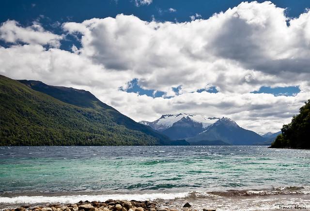 Lago Menéndez y vista del Glaciar Torrecillas