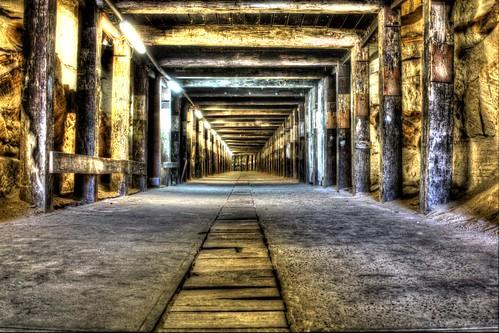 Dogleg Tunnel - Cockatoo Island HDR