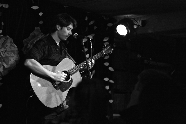 Danny Leigh performing at The Acoustic Folk Highway - The Harrison, London