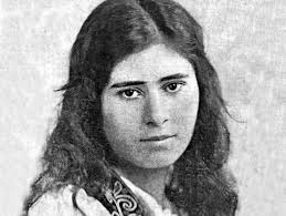 """Actress Aurora Mardiganian in the 1919 Hollywood film """"Ravished Armenia,"""" who lived through terror and became a film star. Then she left a bright and glamorous life, engaging in patronage of the arts and dying completely forgotten and alone."""
