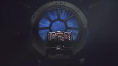 Tie fighter cockpit view.
