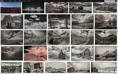 "My fotostream on a 30"" display"