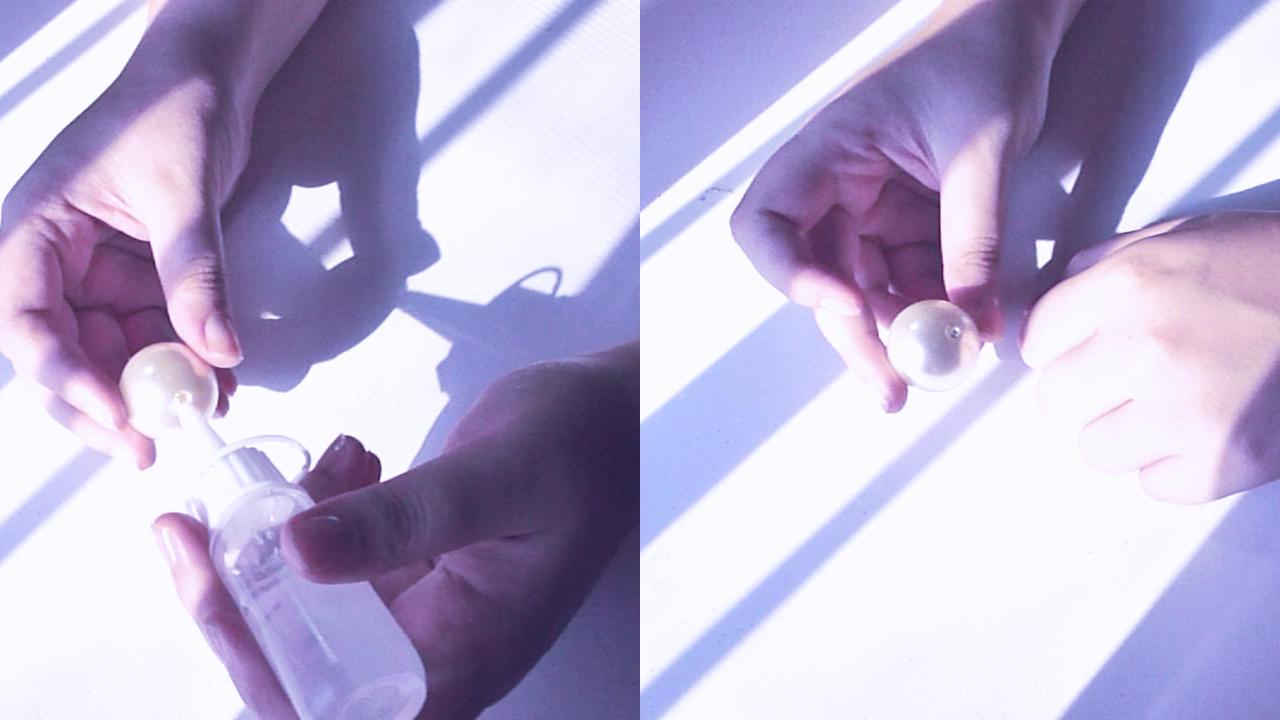 Dior inspired pearl choker