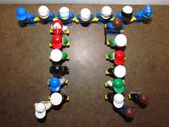 LEGO Minifigures Pi Symbol