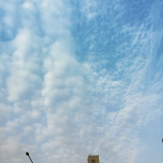오늘의 하늘... #humandays #humansky