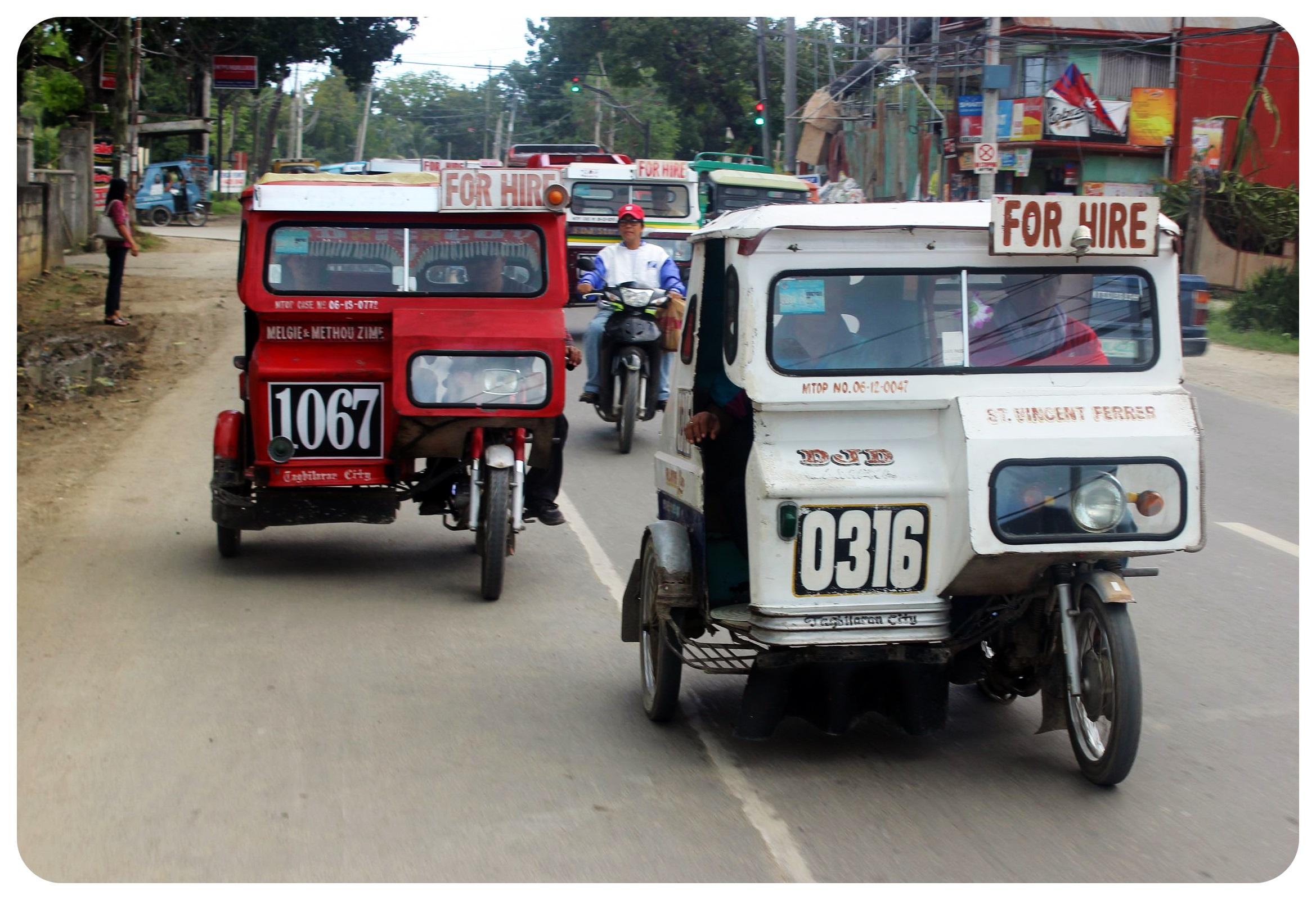 bohol tricycles