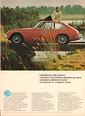 1966 MGB GT Advertisement Newsweek April 18 1966