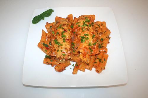 41 - Chicory pasta bake - Served / Chicoree Nudelauflauf - Serviert