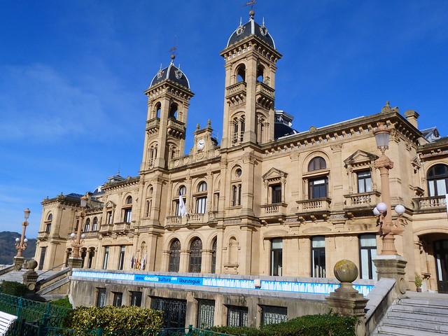 Ayuntamiento de San Sebastián situado en un antiguo casino