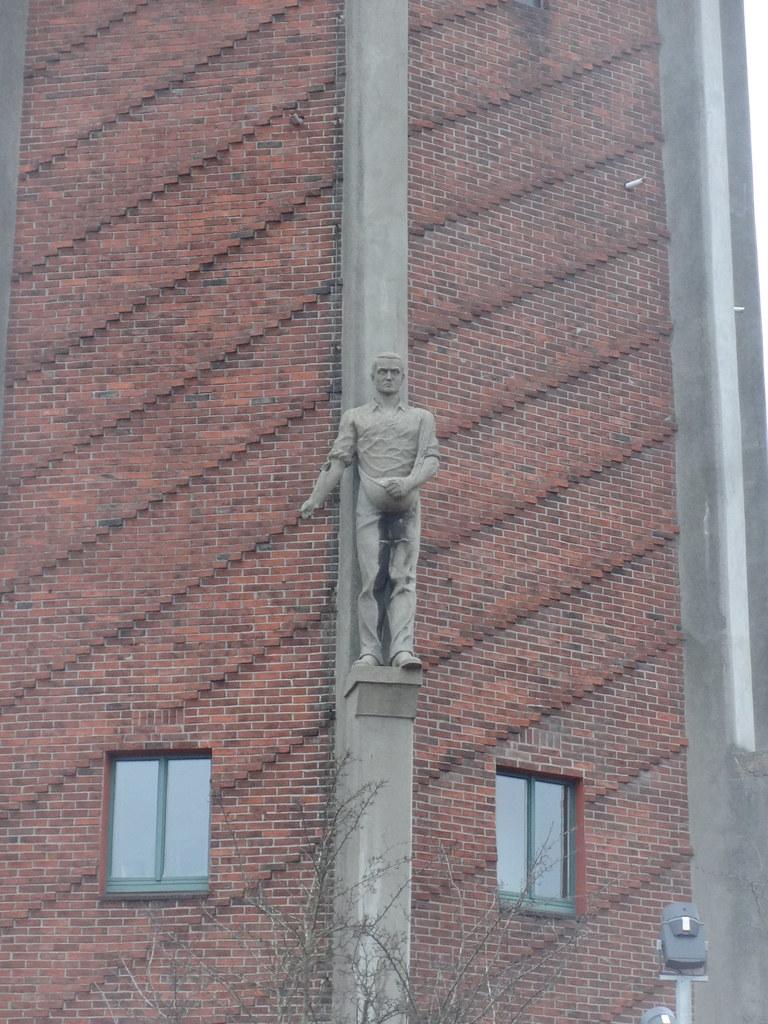 1934/35 Genthin Sämann am Wasserturm in Stahlbeton-Skelettbau mit ...