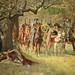 "William Frank Calderon (British, 1865–1943), ""How four queens found Sir Lancelot sleeping"", 1908 by sofi01"