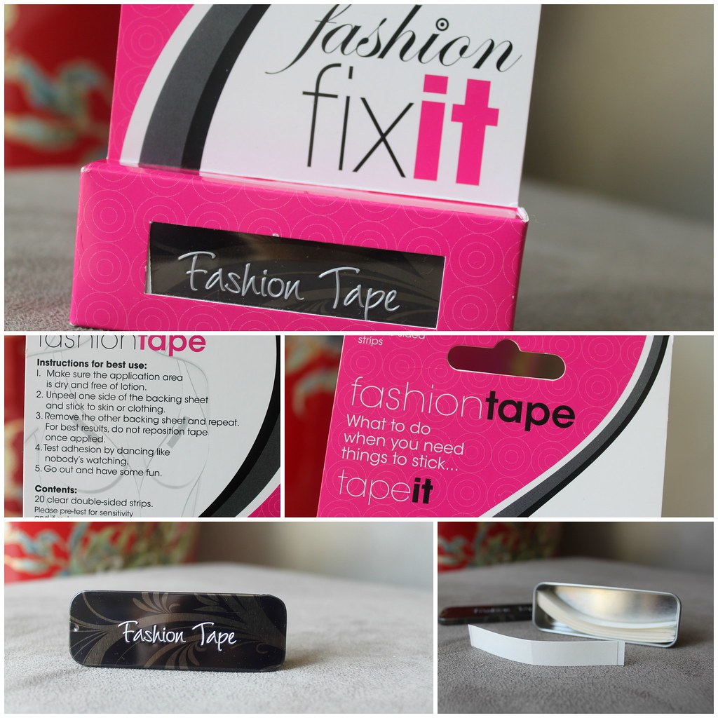 Australian Beauty Review Ausbeautyreview blog blogger fashion fix it tape target low cut dress party saver cheap affordable sticky clear