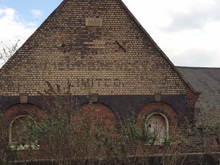 Ghost sign visible from Lichfield City railway station