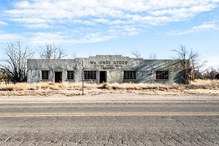 Duran, New Mexico: The Wm. Hindi Store