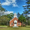 Little country church I found today in Marion County, MS.