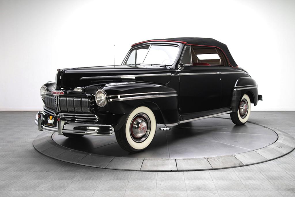 46002_B Mercury 239CI Flathead V8 3SPD CV_Black