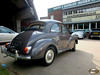 Morris Minor 1000 in brown