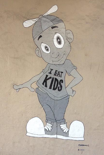 I Eat Kids Graffiti