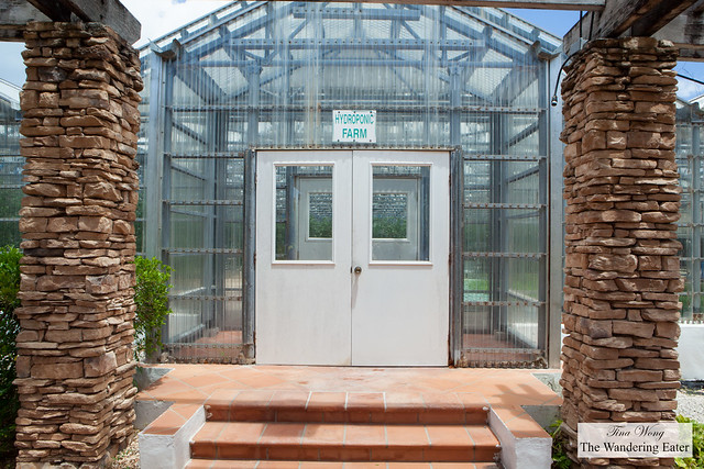 Entrance to the Hydroponic Farm