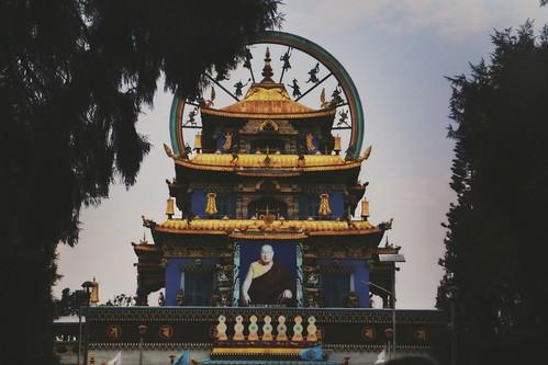 Beautiful Monastery near Kushalnagar