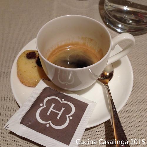 Hohenwart Abendessen 1 Espresso