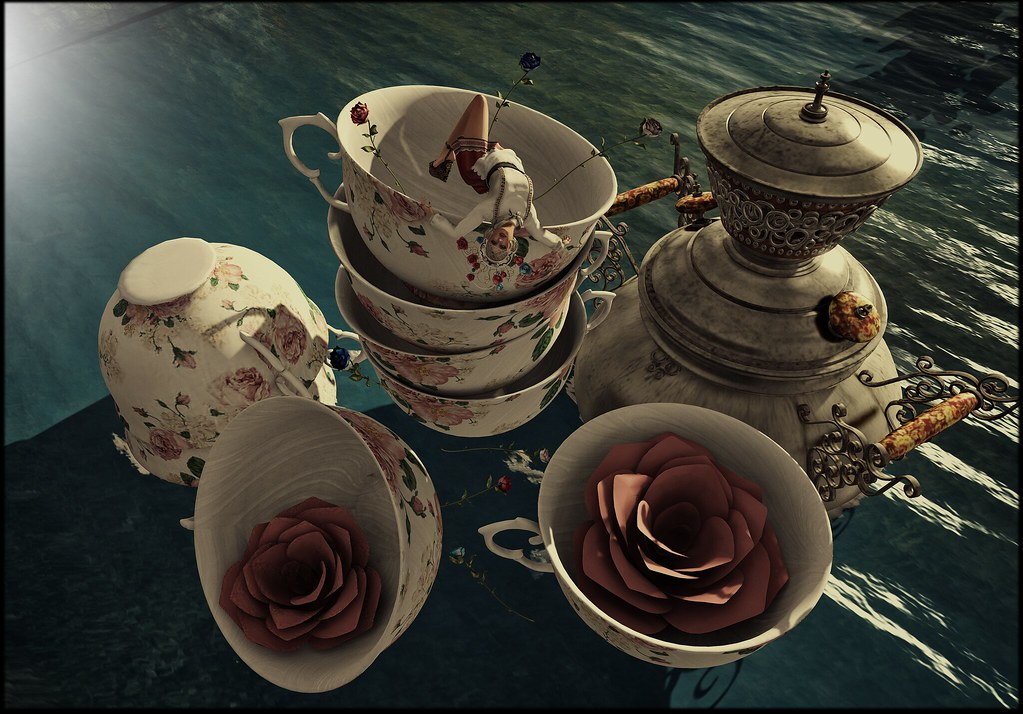 My tea rose surrrrrr