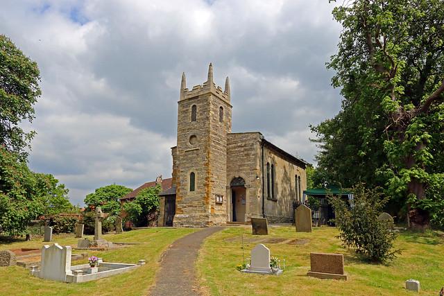 All Saints Church, Pilham, Lincolnshire