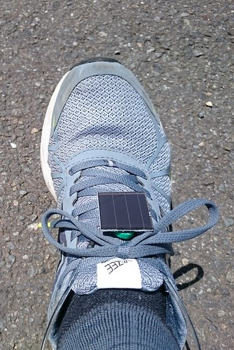Solar LED Safety Ankle Band